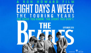 18 september filmhuis: Eight days a week @ theaterzaal