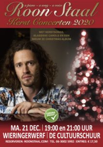 21 december: Roon Staal @ theaterzaal